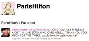 Screen shot 2010 02 03 at 18.59.29 300x140 Favorite tweets reveal self obsessed celebrities