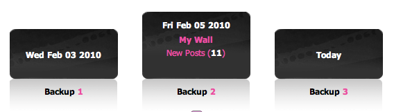 Screen shot 2010 02 06 at 7.02.32 AM1 Social Safe: Time Machine Style Backup for Your Facebook Account