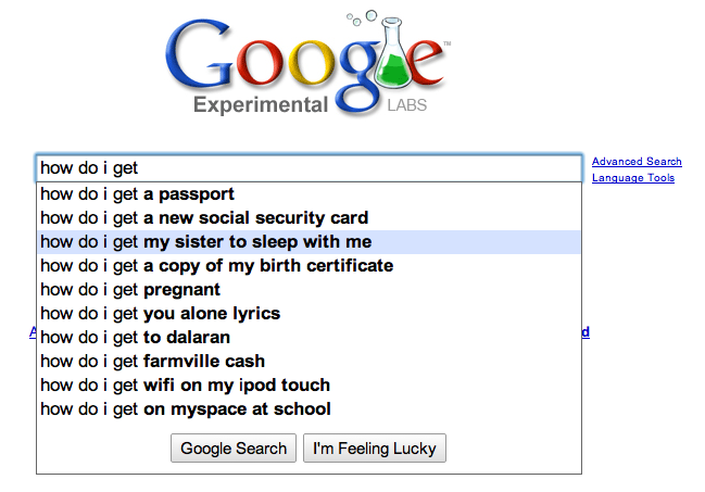 how to search common google searches