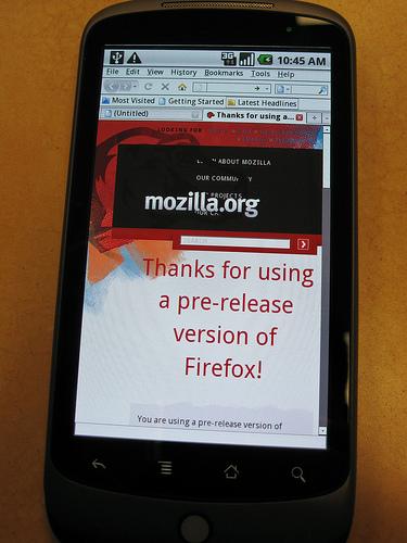 firefox nexus one