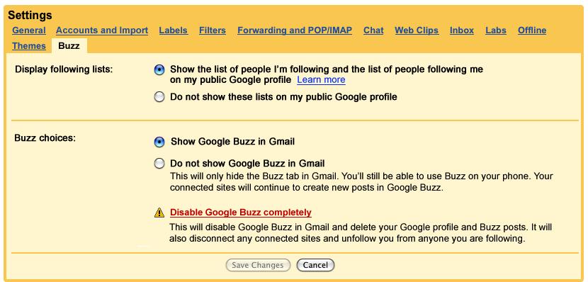 new_Buzz_settings