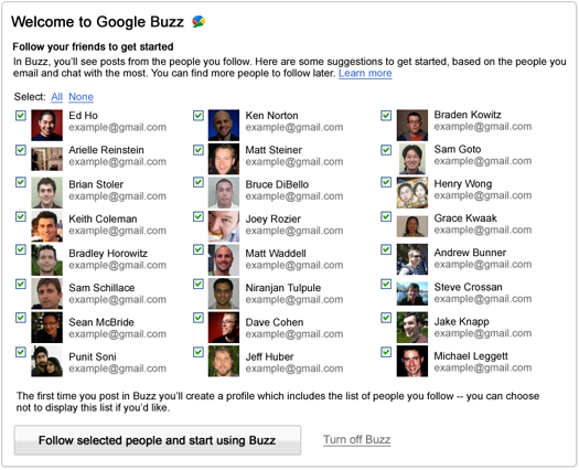 BUZZ: Google Changes Auto-Follow to Auto-Suggest. Amongst Other Things…