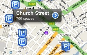 nosey parker Nosey Parker: stress free carparking with your iPhone