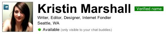 My Verified Profile