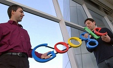 Brin and Page China: Google And US Army Waging Cyberwar