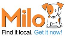 Milo Logo Shopping Search Engine Milo Can Save You $$.