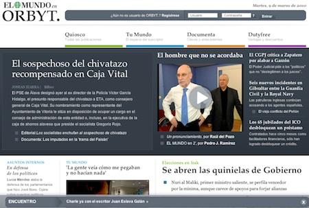 Orbyt Orbyt pone a España en el mapa de los medios online de pago