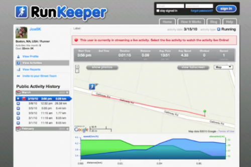 Picture 37 500x333 Runkeeper Live Lets You Track Someone (Running) in Real Time, Online.
