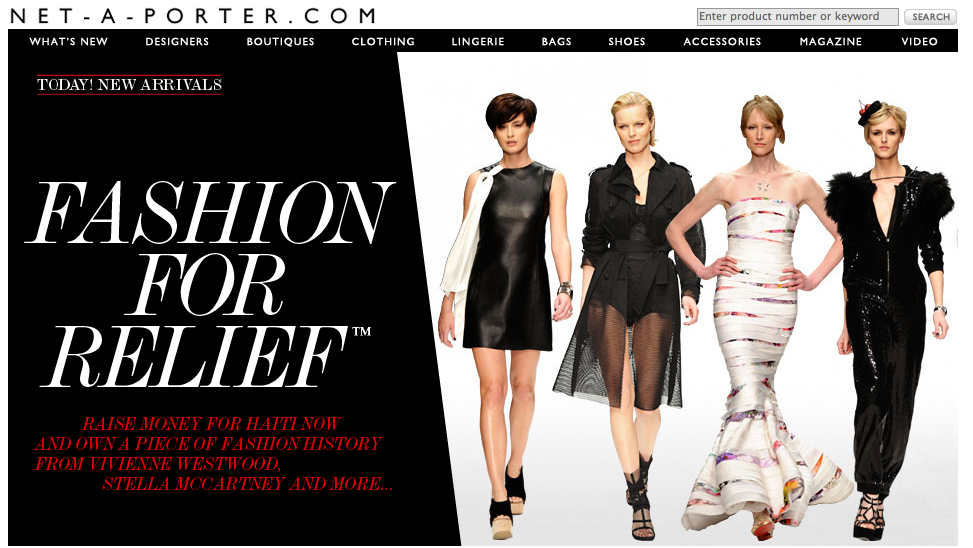 Picture 8 $531 Million, The Value of Net a Porter. Money is always in fashion!