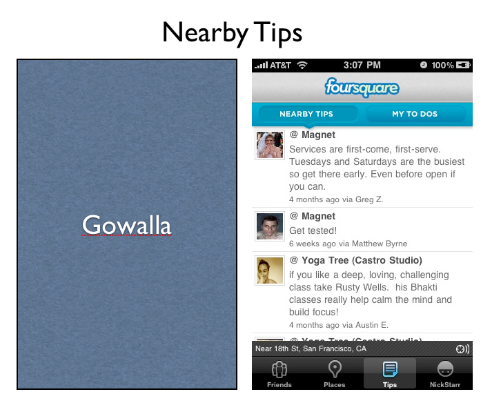 Screen shot 2010 03 10 at 12.09.30 PM Tips and Trips: A Side by Side Comparison of the Gowalla and Foursquare Updates