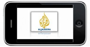aljazeera iphone 300x157 Arabic Aljazeera iPhone App Is Live And Free   Get It Now