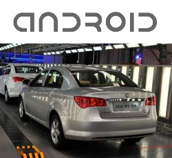 World's First Android-Equipped Car Enters Production