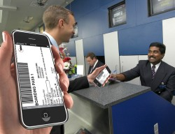 boarding pass Flyers Beginning To Trust More In Mobile Boarding Passes?