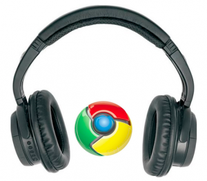 chromephones 300x262 Extension.fm, the must have music add on for Chrome