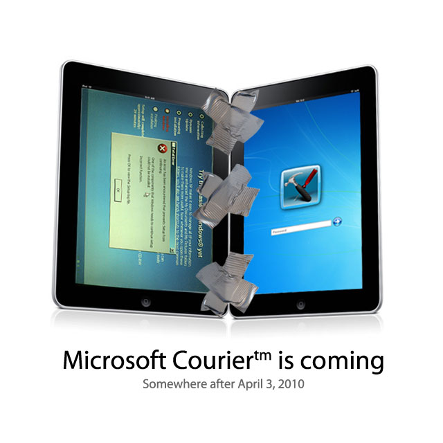 duct take courier two Microsofts Courier is coming….