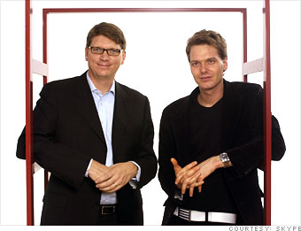 friis zennstrom dis Skype Founders Announce New $165m Fund For Disruptive European Startups