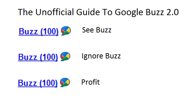 google buzz guide The Unofficial Guide To Google Buzz 2.0