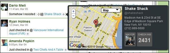 Hootsuite Adds Foursquare (& MySpace) Integration
