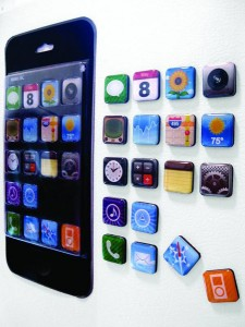 imagnets First iMats, Now iMagnets   iPhone Apps For Your Fridge