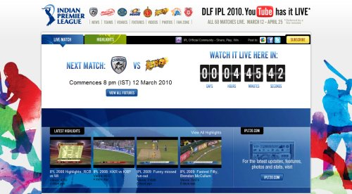 iplyoutube As YouTube Commences Its Coverage Of Live Sport, Will TV Networks Take Notice?