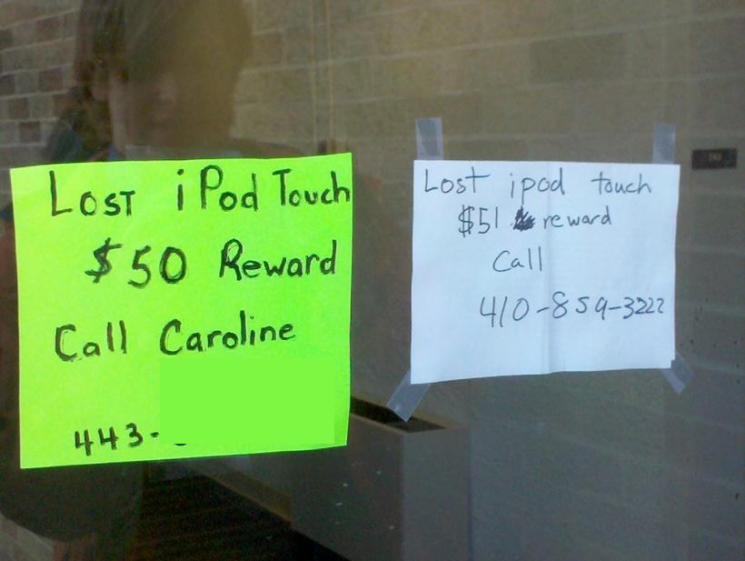 ipod touch Very funny: Lost iPod Touch