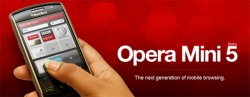 operamini5 540 Opera Mini 5 Beta For Android Released