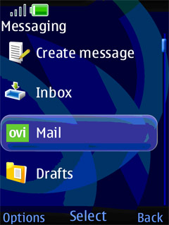 ovi mail 2 0 Nokia Ovi Mail 2.0 now supports Arabic
