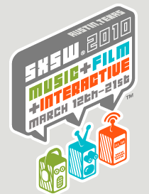 sxsw logo Foursquare Launching 16 New Badges For SXSW   Check Them Out Here