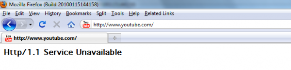 youtube2 600x146 YouTube Is Down