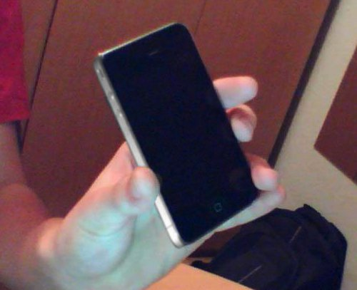 It's all good…That iPhone 4G? It's a Japanese knock off.