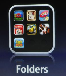 iPhone 4.0 OS Gets Folders. Organisation. Finally.