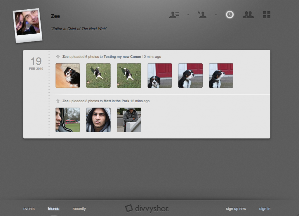 Facebook Has Acquired Divvyshot. The Most Gorgeous Photosharing Site Yet.