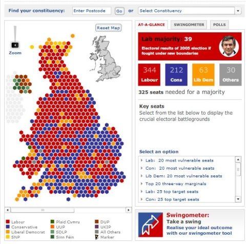 Telegraph Election486 5 great mapping apps to help you track the UK General Election