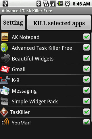 android task killer iPhone OS 4 vs Android: Why Apple just lost the game.