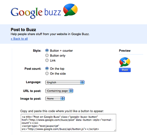 cc7z2x79 3319nrs57g3 b Google Buzz Launches Its Own Official Follow and Rebuzz Buttons
