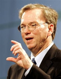 eric schmidt1 235x300 Eric Schmidt Thinks Blogging Is Low Quality Filler