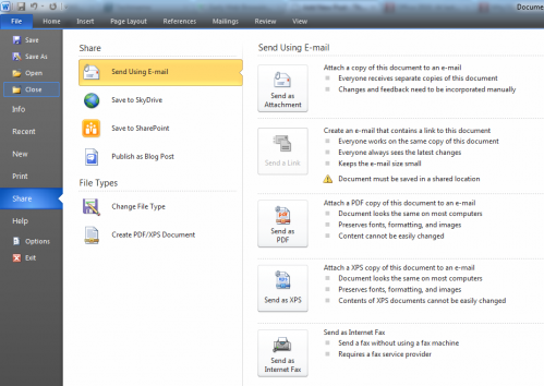 file tab 499x354 5 Reasons Office 2010 Is Going To Rock Your World