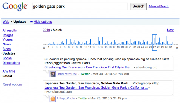 ggp 600x345 Google Launches Twitter Timeline Search