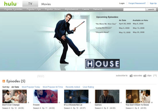 hulu watch online Hulu to start beta testing $9.95 subscription service.  Will you pay?