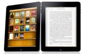 iPad gallery books 300x187 Amazon Halts The Sale Of Some E Books Over Contract Squabbles
