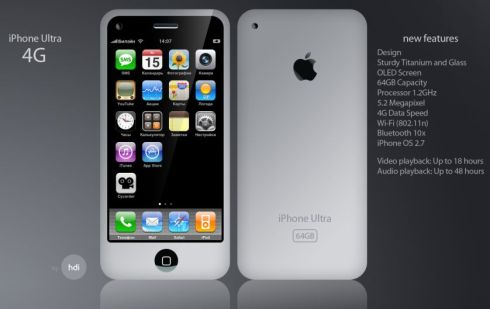 iphone ultra 4g concept New iPhones Rumoured To Be Arriving June 22nd