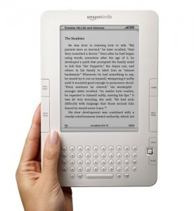kindle2 276x300 Tomorrow Publishers Take Control Of E Book Pricing   Watch For Price Hikes