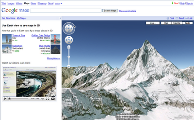 matterhorn Google Launches Earth View In Google Maps   It Rocks