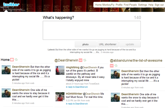 monkeyflysc MonkeyFly: A Browser Plugin That Lets You Customize Your Twitter Experience...Dramatically.