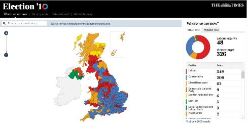 times election487 5 great mapping apps to help you track the UK General Election