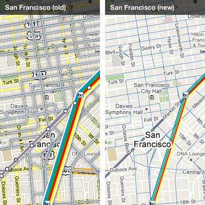 Google Transit - San Francisco