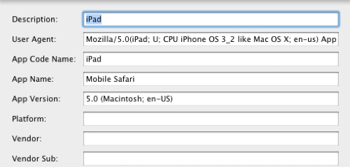 user agent Use Gmails New iPad Interface On Your Computer Now