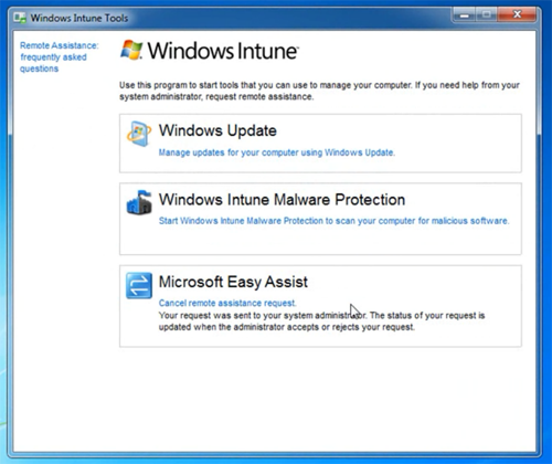 windows intune clieny Windows Intune   Microsofts Cloud Based PC Management Solution