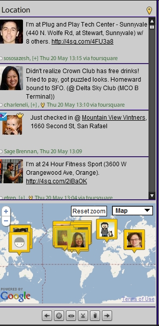 Foursquare Columns Bring Location Streams Front & Center