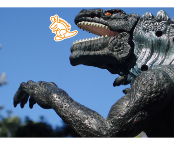 9986 godzilla eating gowalla 350 x 293 Video killed the radio star, Facebook killing the Foursquare star?